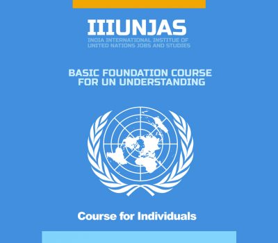Basic Foundation Course for UN Understanding