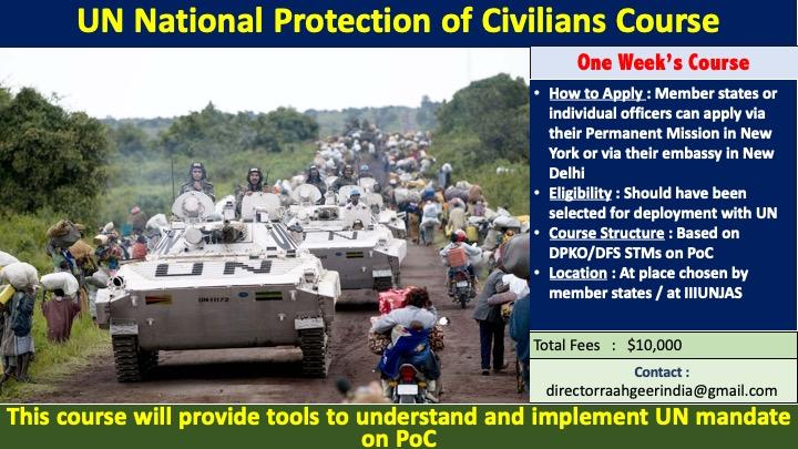 UN National Protection of Civilians Course
