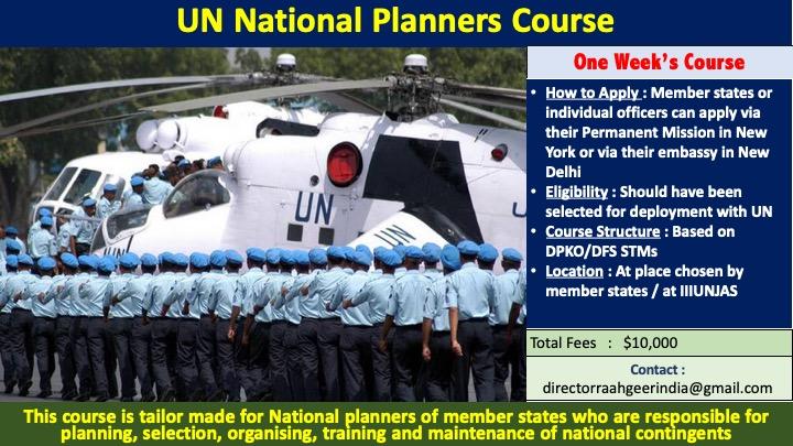 UN Planners Course