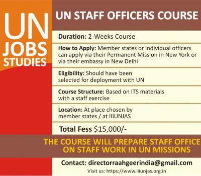 IIIUNJAS UN Staff Officers Course