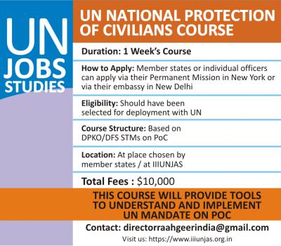 IIIUNJAS UN National Protection of Civilians Course